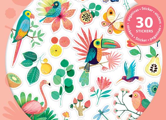 Stickers Paillettes - Djeco