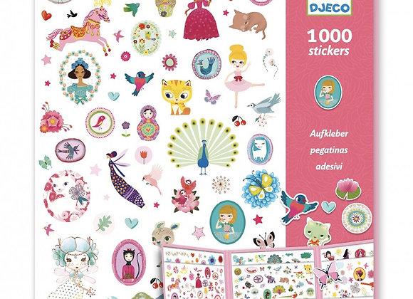 1000 stickers Sweet - Djeco