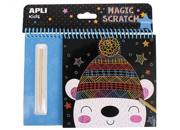Magic scratch inverno - Apli Kids