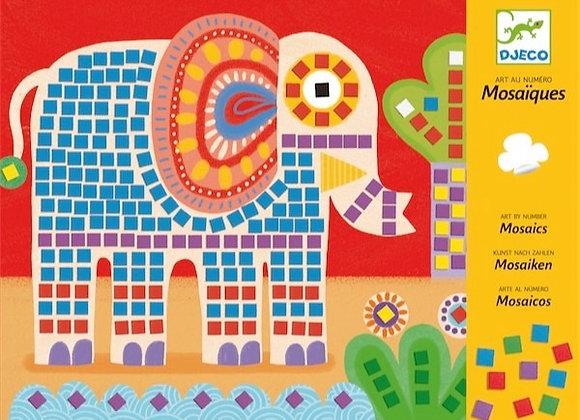 Mosaico elefante - Djeco