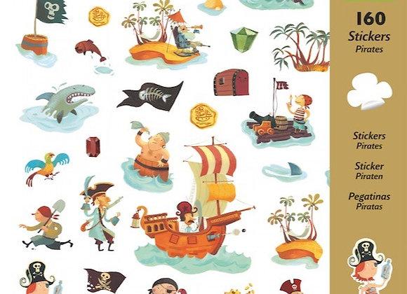 Stickers Pirati - Djeco