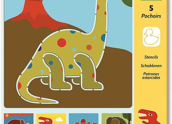 Stencil Dinosauri - Djeco
