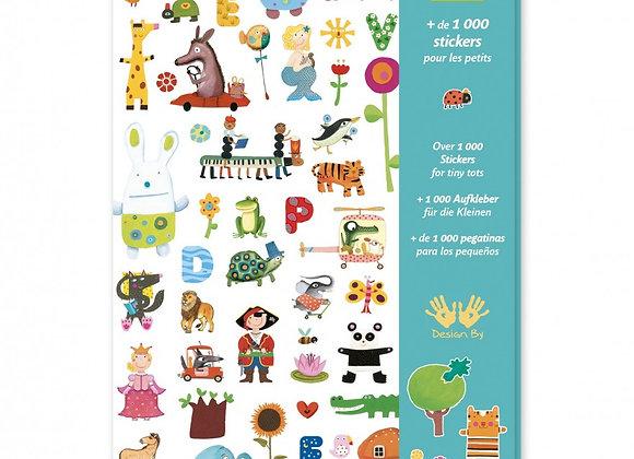 1000 stickers per i piccoli - Djeco
