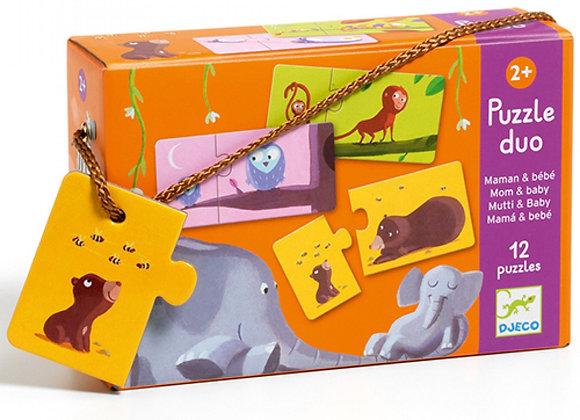 Puzzle duo mamma-figlio Djeco