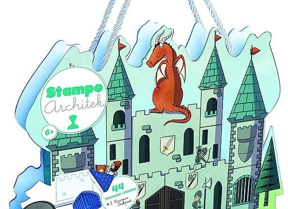 Timbri crea castello medioevale - Aladine