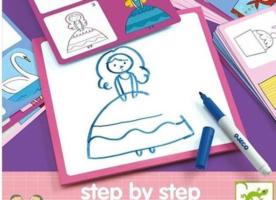Impara a disegnare principesse - Djeco