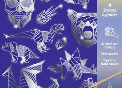 Carte da grattare stickers Ferro - Djeco