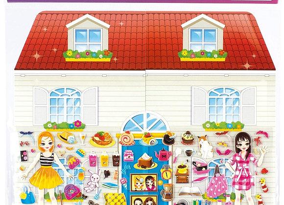 Stickers Dress-up Home - Apli Kids
