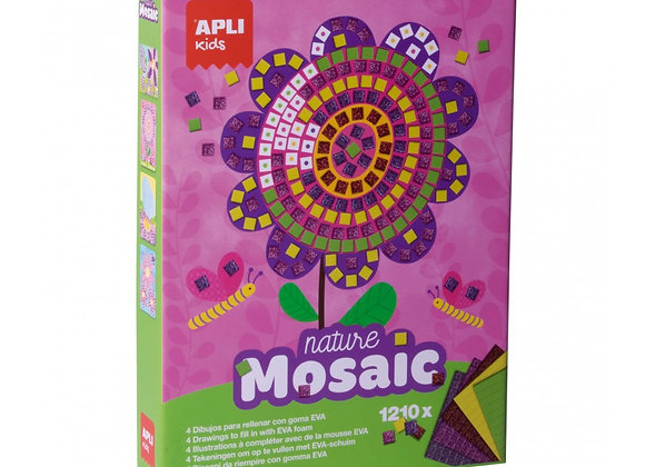 Mosaico fiori - Apli Kids
