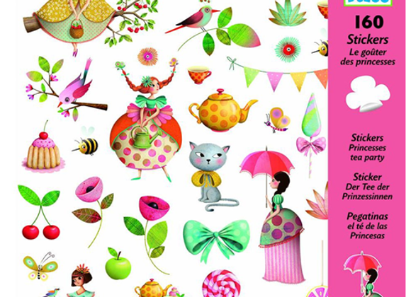Stickers Principesse - Djeco