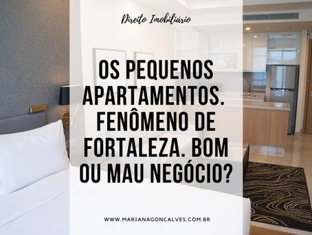 """O """"fenômeno"""" dos microapartamentos em Fortaleza. Bom ou mau negócio?"""
