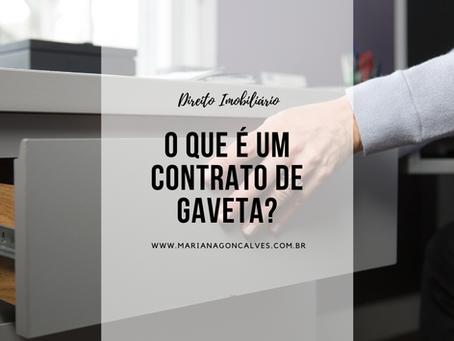 O que é um contrato de gaveta?