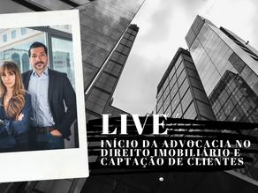 Live Mariana Gonçalves e Marcus Rezende - Início no Direito Imobiliário