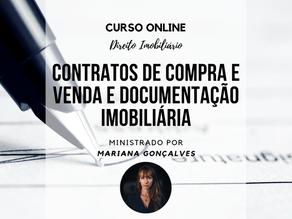 Curso Online - Elaboração de Contratos e Documentação Imobiliária.