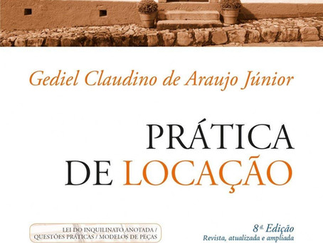 Livro - Locações Urbanas. Gediel Claudino de Araujo Júnior