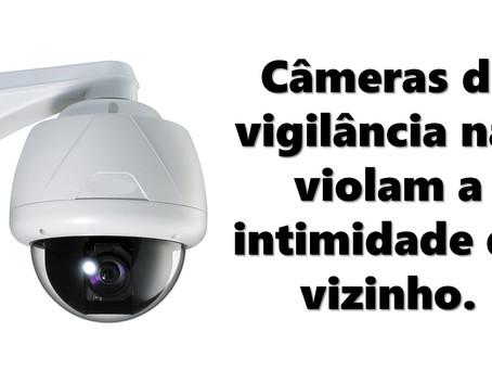 Tribunal de Justiça de Santa Catarina entende que: Câmeras de vigilância não violam a intimidade do