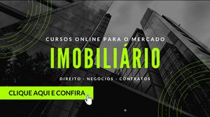 Cursos online - mercado imobiliário
