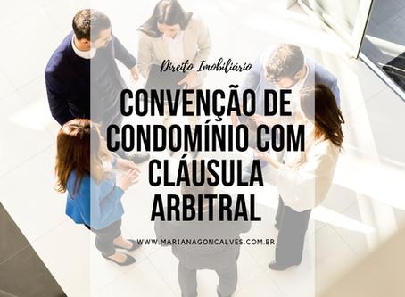 Convenção de condomínio com cláusula arbitral