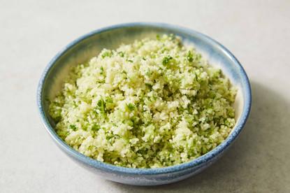 Cauliflower Rice & Spinach