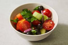Naked Greek Salad