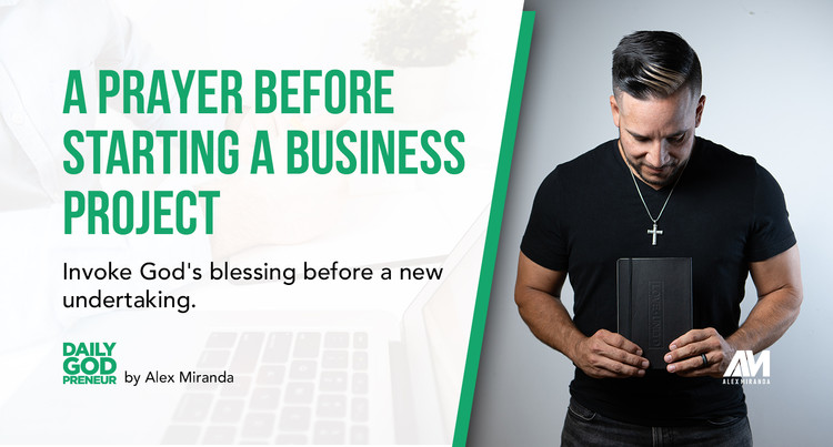 Prayer Before Starting a Business Project