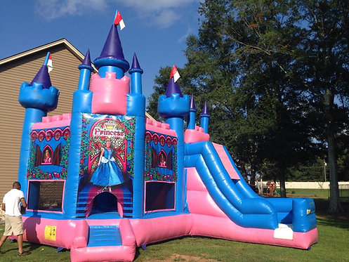 5in1 Princess Bounce House