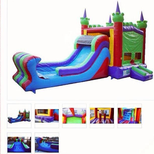 5in1 King Castle Wet or Dry Combo