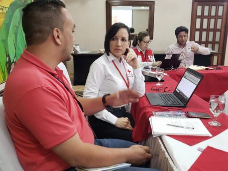 """""""Jornada para laelaboración del Plan de Trabajo PRE Cruz Roja Hondureña"""""""