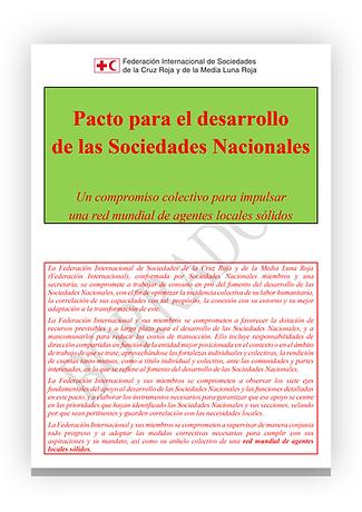 Pacto para el desarrollo de las sociedad
