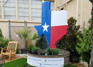 Texas Fountain at San Antonio Stock Show and Rodeo