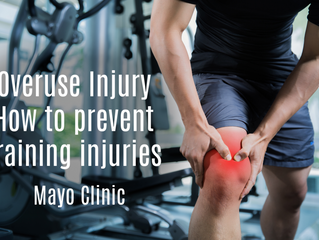 Overuse injury: How to prevent training injuries.