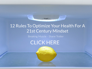 12 Rules To Optimize Your Health For A 21st Century Mindset