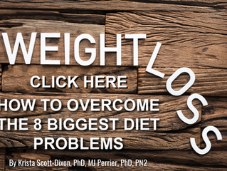 How to overcome the 8 biggest diet problems