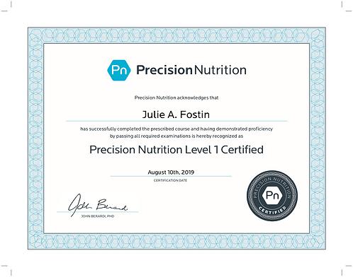 precision-nutrition-julie-a.-fostin-l1-c