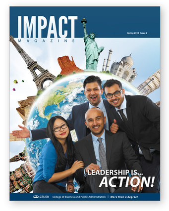 IMPACT Magazine Spring 2016 Issue 2 (cover)
