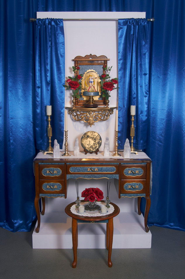 Our Lady of the Moon (Installation view), 2015.