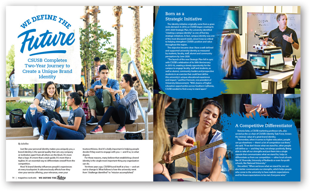 CSUSB Magazine, Fall 2017/Winter2018 Cover Story (excerpt)