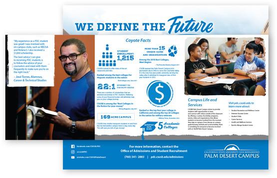 CSUSB Palm Desert Campus  Recruitment Brochure (inside)