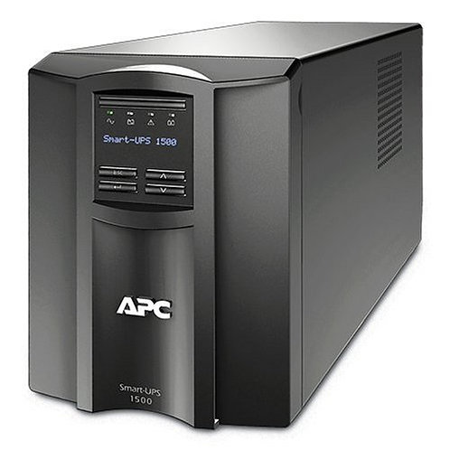 APC Smart-UPS 1500VA UPS Battery Backup with Pure Sine Wave Output (SMT1500)