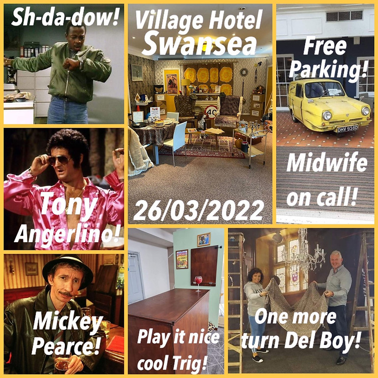 Only fools and horses SPRING event - Swansea 10.00 AM - 2.00 PM slot