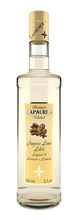 Liquore allo Zenzero e Limone