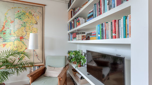 boekenkast woonhuis.
