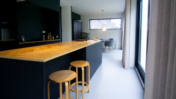 keuken vrijstaande woning.