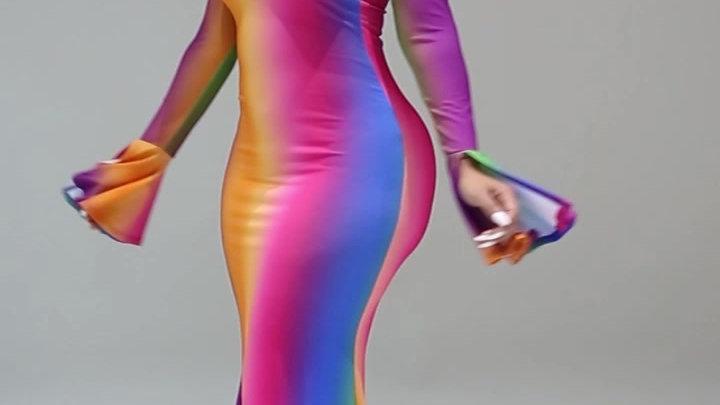 Follow The Rainbow Dress