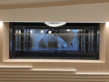 SVF Baumert - Cloison bord à bord coupe-feu pareflamme aluminium et acier