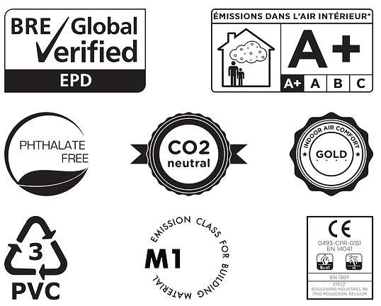 2tec2 Maroc - Revêtement de sol PVC recyclable acoustique normes européennes