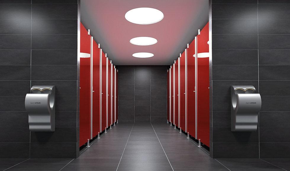 SUFFIXE MAROC - Cabines sanitaires WC haut de gamme verre bois stratifié massif