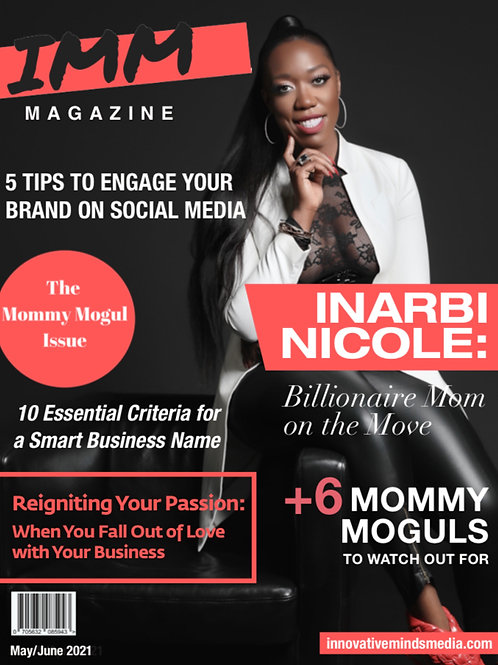 IMM May/June 2021 Mommy Mogul Issue