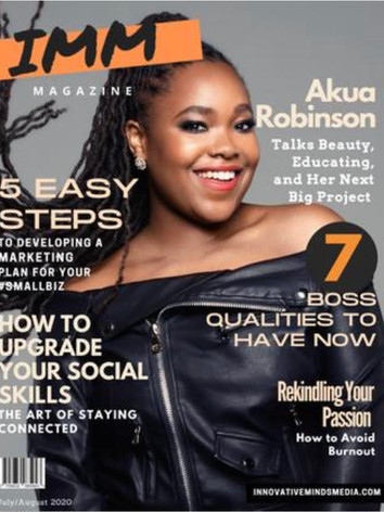 IMM July/August 2020 Issue
