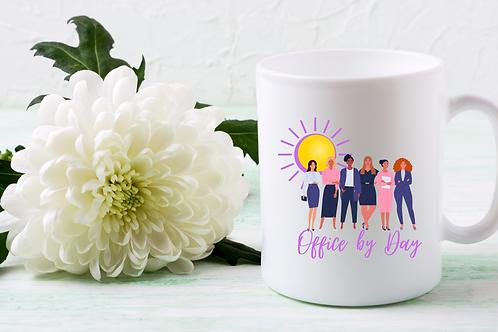 """Office By Day, CEO By Night"" Brand Boss Mug"